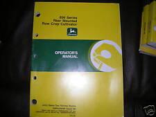 John Deere 856 Cultivator Operator's Manual