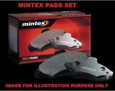 FOR NISSAN PRIMERA P12 1.6i 1.8i 2.0i 2.2DT 2001-2006 MINTEX REAR BRAKE PADS SET