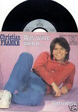 "CHRISTIAN FRANKE Was wäre wenn... 7""-Single"