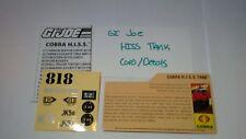 G.I. Joe Decals