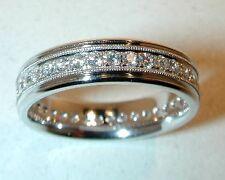 .96CT MENS DIAMOND ETERNITY RING IN 18KT WHITE  GOLD