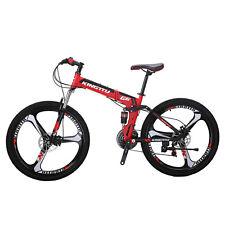 b9a2d653a10 Full suspension Folding Mountain Bike 26