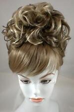 Chignon Updo Bun w/Drawstring Pageant Hairpiece Wedding Piece Topper Cover