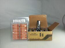 10 Gasdüsen 20 Stromdüsen MB14 MB15 AK Set 0,6 - 1,2 E-Cu ALU CuCrZr Kontaktrohr