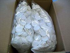 2000 Einkaufswagenchips  Wertmarken Pfandmarken Veranstaltung Ekw 02 Weiß