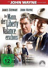 DVD DER MANN DER LIBERTY VALLANCE ERSCHOSS # John Wayne, James Stewart ++NEU