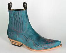 4660 Sendra botines floter turquesa colección en turquesa botas de vaquero