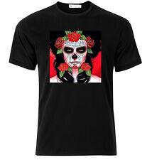 El Dia De Los Muertos - Graphic Cotton T Shirt Short & Long Sleeve