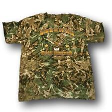 """American Buck Hunter"" Camo Tshirt - Adult L - Adult XL"