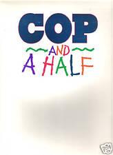 COP AND A HALF (1992) BURT REYNOLDS ORIG PRESS KIT