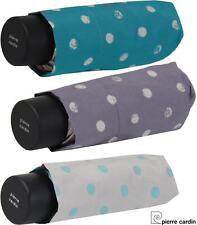 Pierre Cardin Regenschirm Mini Damen Taschenschirm klein leicht Caprice Dots