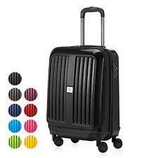 Hauptstadtkoffer X-Berg Handgepäck Boardcase Kabinen Trolley Bordkoffer glanz