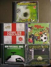 FUSSBALL CD PAKET - 6 CD PAKET - EM PARTY - STADION HITS FUSSBALLFIEBER QUIZ