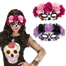 Ojos máscara Sugar Skull máscara mexicano máscara de muerte la Halloween Catrina Rosas