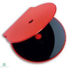 Solido Rosso Clam Shell in plastica di alta qualità Custodia Singola CD DVD di archiviazione su disco