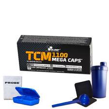 (6,35 Eur/100g) Olimp TCM Mega Caps 1100mg Kreatin 120 Kapseln Creatin + Bonus