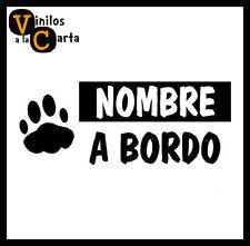 Mascota a Bordo Perro Vinilo Sticker Pegatina Adhesivo Vinilo Coche 2005 f7c869c2c3d43