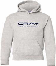 Cray The Supercomputer Company Vintage Logo HOODY
