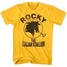 Rocky Balboa Italian Stallion Horse Head Men's T Shirt Boxing Fighter Legend Top
