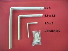 L Bracket Angle Iron Corner Brace Joint  Metal Install Shelf Cabinet