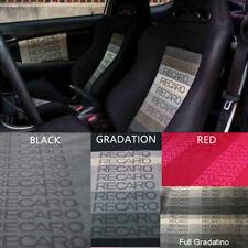 All Color JDM Recaro Fabric For Seat Cover Headliner Door Panel Cloth 1mx1.6m