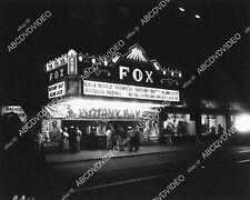 1694-008 movie theaters The Fox Theatre in San Diego premiere Botany Bay Alan La
