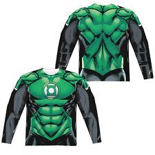 Green Lantern Uniform Full Sublimation T-shirt for Adult Men Costume
