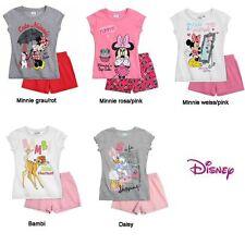 Disney Minnie / Bambi / Daisy Schlafanzug - kurzarm Pyjama *NEU*