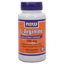 Now Foods L-ARGININE 1000 mg Amino Acid Powerhouse - 120 tablets FAST SHIPPING