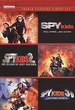 Spy Kids/Spy Kids 2: The Island of Lost Dreams/Spy Kids 3: Game Over (DVD,...