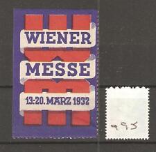 CINDERELLA -Q95- AUSTRIA -  WIENER MESSE - 1932