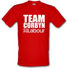 TEAM corbyn voto laburista elezione Jeremy corbyn PESANTE DI COTONE T Shirt Tutte le Taglie