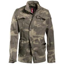 Surplus Delta Britannia Leger Cadet Jacket Militaire Jas Heren Parka Woodland Ca