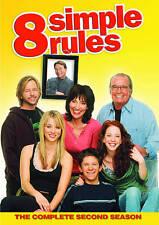 LIKE NEW 8 Simple Rules - Season 2 (DVD, 2009, 3-Disc Set)