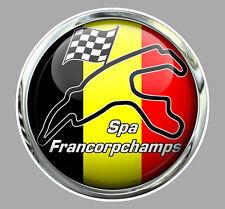 Sticker Circuit SPA-FRANCORCHAMPS Trompe-l'oeil°