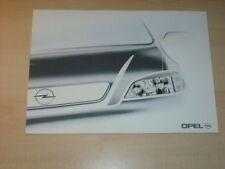 17604) Opel Astra Prospekt 1998