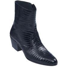 Men's Los Altos Genuine Teju Lizard Skin Ankle Boots Handcrafted