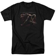 Mortal Kombat X Scorpion Lunge Licensed Adult T Shirt