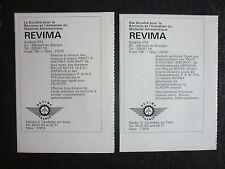 1971 2 PUBS REVIMA UTA CAUDEBEC-EN-CAUX TURBOPROPULSEURS PRATT & WHITNEY PT6 AD