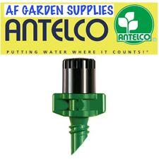 Micro Garden Irrigation Spray Nozzle 360 degree pattern Antelco Green/Black