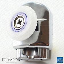 di Vapor (R) INFERIORE CURVO RULLO PORTA DOCCIA 6MM A 8 mm vetro Guide altalena