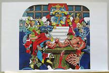 THOR v HERCULES Pin Up Poster Marvel BATTLE of the GODS