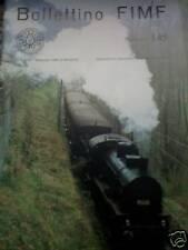 Bollettino FIMF treni 1985 145 Uno Loco 640 in H0 e con