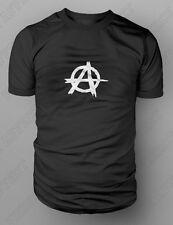 Anarchy Punk Skate Stencil Design T shirt Tee S-XXL SAMCRO SOA SONS PEACE BLACK