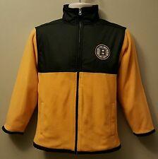 Boston Bruins NHL Boys/Girls Youth Full Zip Collar Sweatshirt/Jacket:XS-XXL