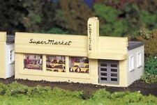 BACHMANN PLASTICVILLE HO GAUGE SUPERMARKET KIT train building structure 45141