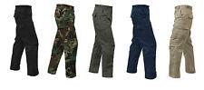 RIP STOP COTTON Cargo Pants BDU Military Army Navy USMC Marines Hunting EMT SWAT