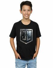 DC Comics niños Justice League Movie Shield Camiseta