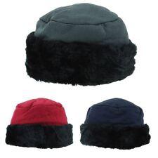 Ladies Winter Hat Warm Furry Cap Hawkins Ski Beanie Headband Women Jersey