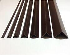 PVC Winkel Braun 1 Meter Winkelprofile Kunststoffleiste Profil Bekleidungsleiste